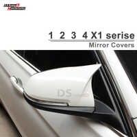F30 ABS/Substituição De Fibra de Carbono Capa Espelho Para BMW F20 F22 F30 F31 F35 F34 F32 F33 F36 X1 E84 2010-EM