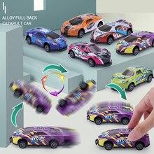 Stunt Toy Car Creativity Mini Car Models Pull Back Vehicles Small Game Prizes For Children Kids Boys Juguetes Para Niños