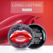 Lasting Moisturizing Lipstick 8 color With Lip Brush Beauty Makeup Cosmetic