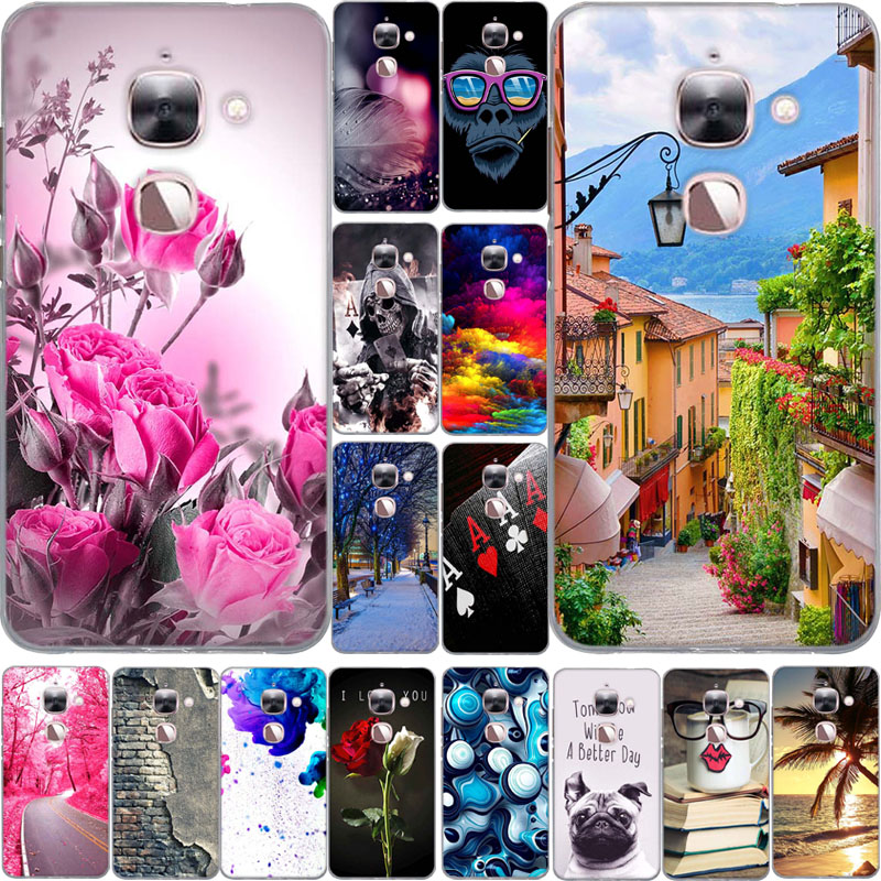 for Letv Le 2 Max X820 Cases Luxury 3D Relief Paiting Silicon Back Cover Case for Letv LeEco Le Max 2 X820 Phone Case Cover Bags