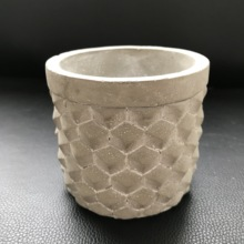 Creative Diy Handmade Clay Flowerpot Silicone Mold for Multi-function Home Decoration Craft Cement Pot Molds