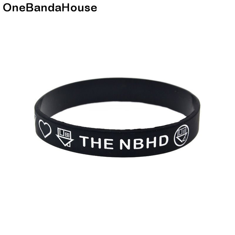 OBH 1 шт., силиконовый резиновый браслет для любителей музыки