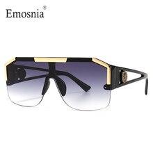 2021 New Fashion Big Square occhiali da sole da uomo stile gradiente alla moda guida Retro Brand Design occhiali da sole UV400 Dropship all'ingrosso