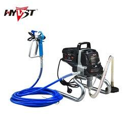 HYVST-pulverizador de pintura eléctrico, pulverizador de pintura sin aire para hogar, decoración familiar, portátil, profesional, para mejorar el hogar