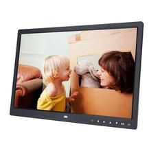 "1"" HD экран сенсорная кнопка Цифровая фоторамка Будильник MP3/4 видеоплеер"