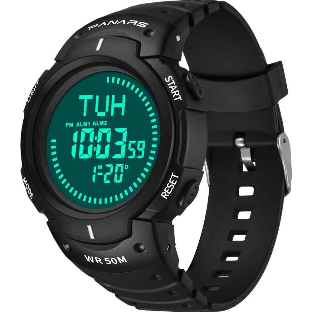 SYNOKEผจญภัยกลางแจ้งนาฬิกาเข็มทิศนาฬิกาปลุกสำหรับช่วยนาฬิกาผู้ชาย 5barกันน้ำว่ายน้ำกีฬาWacth Relogio Masculino