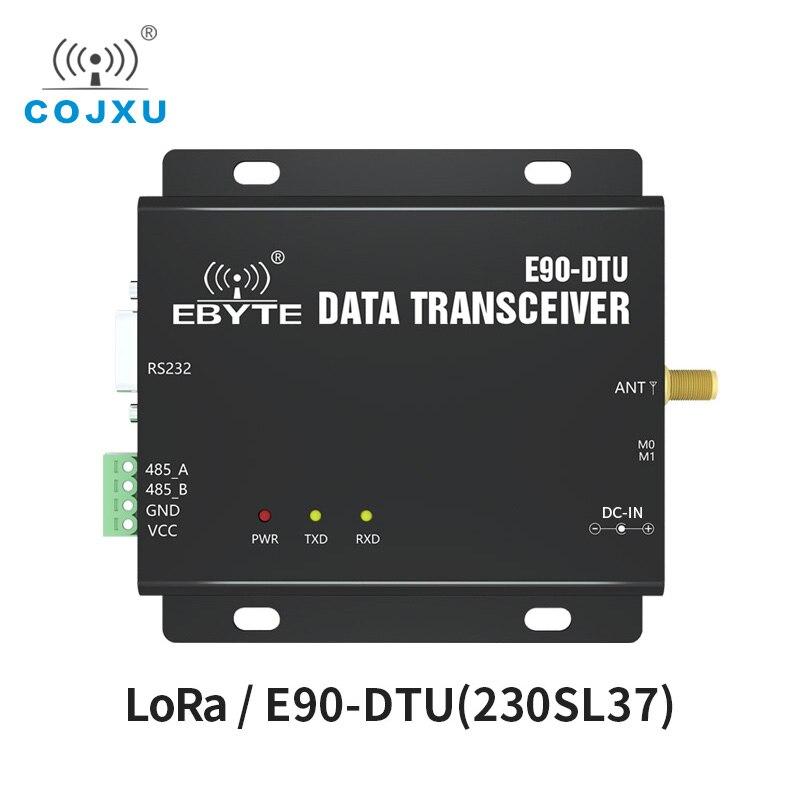 LoRa 230MHz 37dBm RS232 RS485 RSSI ebyte E90-DTU(230SL37) Networking Modem PLC LoRa Spread Spetrum Long Distance Wireless Module