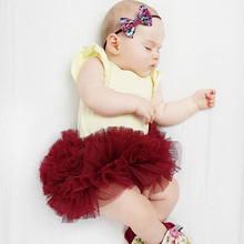 New Autumn Newborn Baby Skirt 0-18M Cute Casual Fashion Baby Girl Candy Color Mesh Tutu Skirt Kids Toddler Clothing #22 цены