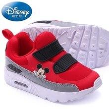Disney Winter Kids Sports Shoes Fashion Casual Sneaker Boy Girl Mickey Air Cushion Baby Running Comfortable