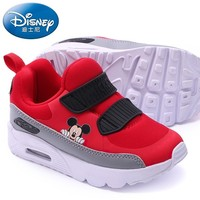 Disney Winter Kids Sports Shoes Fashion Casual Sneaker Boy Girl Mickey Air Cushion Baby Running Shoes Comfortable Kids Shoes