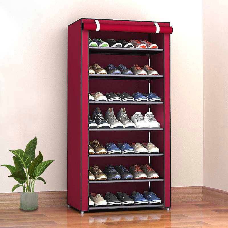 Hot Sale Nonwoven Fabric Shoes Rack Removable Shoes Organizer Cabinets Shoes Rack Shoe Storage Home Furniture Shoe Cabinet