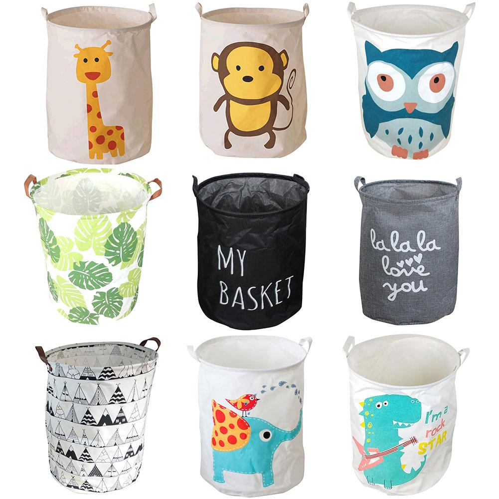 Large Capacity Folding Laundry Basket Dirty Clothes Storage Bucket Bag Organizer Home Supplies