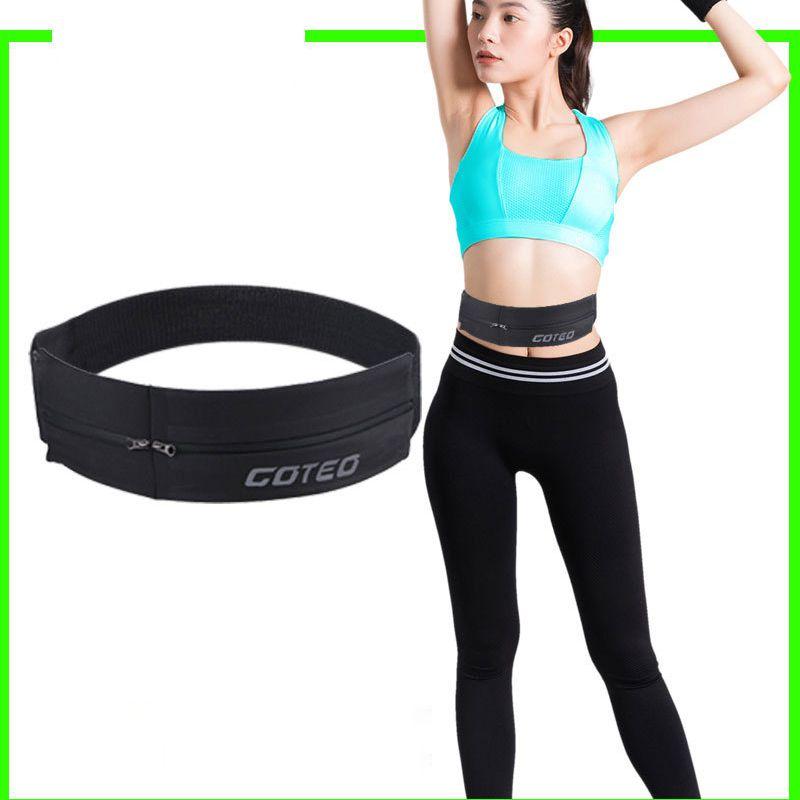 Waist Bag Elastic Zipper Storage Bags Keys Phone Case Multifunctional Outdoor Fitness Running Sportswear Accessories