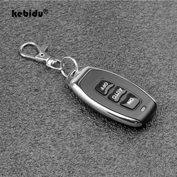 kebidu Wireless Copy Code 3 Buttons Remote Control Duplicator 433Mhz 315Mhz Frequency for Electric Gate Garage Door Keychain