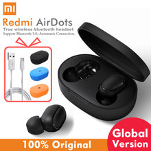 Xiaomi airdots Redmi AirDots Wireless Bluetooth 5.0 Earphone In-Ear stereo bass Earphones With Mic H