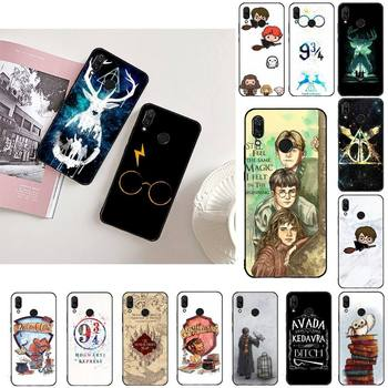 eternally Hogwart Comic design Cartoon Anti-fall Phone Case For Xiaomi Redmi note 8 9 9s Pro 9 9a Harris Potter image