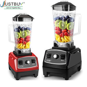 Commercial Blender Juicer Processor-Mixer Ice-Smoothie Heavy-Duty Professional 2200W