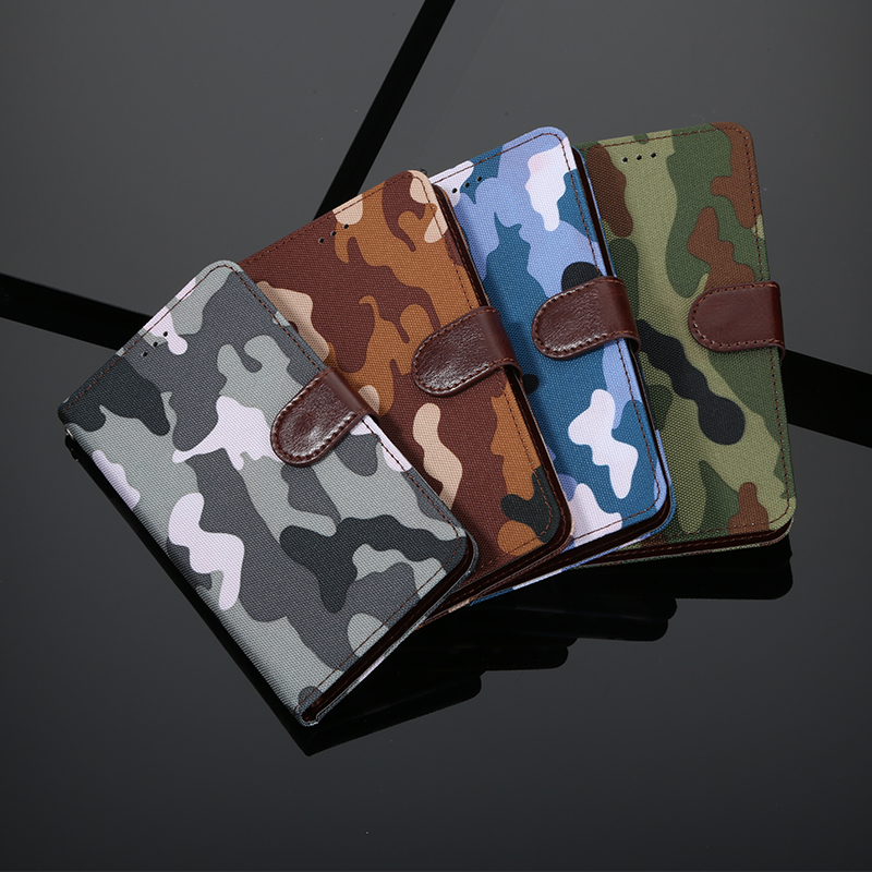 Army Green Camouflage Leather Wallet <font><b>Phone</b></font> <font><b>Case</b></font> For <font><b>Alcatel</b></font> U5 HD 3G 4G 4047 <font><b>4047D</b></font> 4047Y 5044 5044D 5044Y 5047 5047D 5047Y <font><b>Case</b></font> image