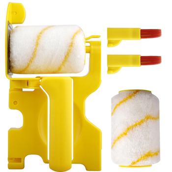 Clean-Cut Paint Edger szczotka rolkowa ściana sufitowa drzwi wałek malarski szczotka rolkowa pędzel malarski obrzeża narzędzia do drzwi sufitowych ściennych tanie i dobre opinie alloet NONE CN (pochodzenie) Roller