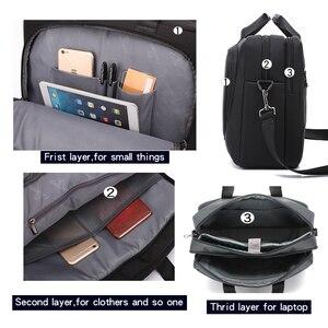 Image 4 - New Brand Laptop Bag 15 15.6 Inch Notebook Shoulder Bag  Handbag for Macbook Pro 15.4 Inch Business Bag for Man