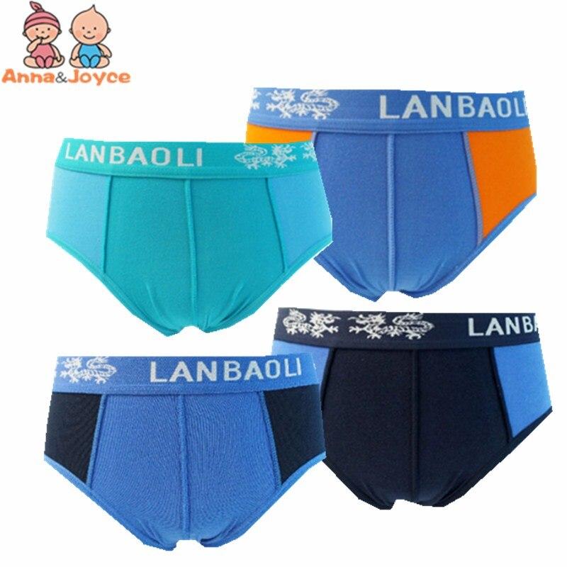 3pc Boys Cartoon Printing Cotton Briefs Children's Underwear Soft Comfortable Three Yards 3 To 12years 1