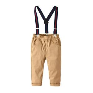 Image 5 - פעוט בגדי 2020 קיץ תלבושות עבור 1 7 שנות ילד בגדים לבן קצר שרוולים חולצה + חאקי מכנסיים חליפה סט בגדי ילדים