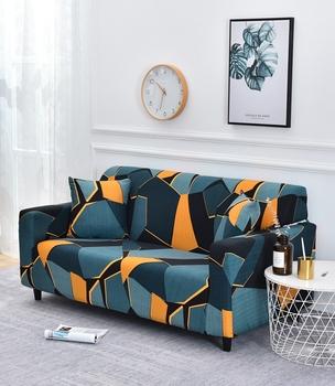 All-wraped narzuta na sofę narzuta z nadrukiem elastyczny rozciągliwy pokrowiec na kanapę na narożnik narożny Single Two Three Four-seater tanie i dobre opinie mecerock 90-140cm 145-185cm 195-230cm 235-300cm Sofa Slipcover Couch Cover Sofa Cover Printed Modern Floral Trzy-seat sofa