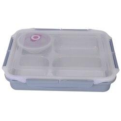 Pojemnik Bento ze stali nierdzewnej szczelny pojemnik na stołki miska na zupę pojemnik na przybory szkolne