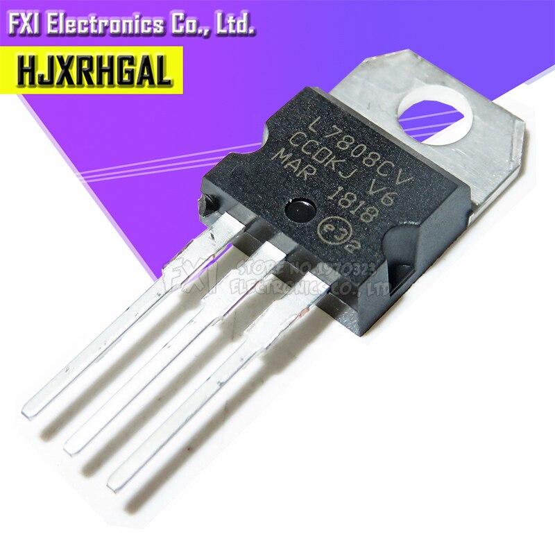 10PCS L7808CV TO220 L7808 TO-220 7808 LM7808 MC7808 Stabilivolt Voltage-regulator Tube New Original