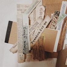 200 sztuk Vintage kolekcja biletów Stubs papierowy materiał codzienna etykieta DIY Scrapbooking Sticky Note naklejki biurowe Planner
