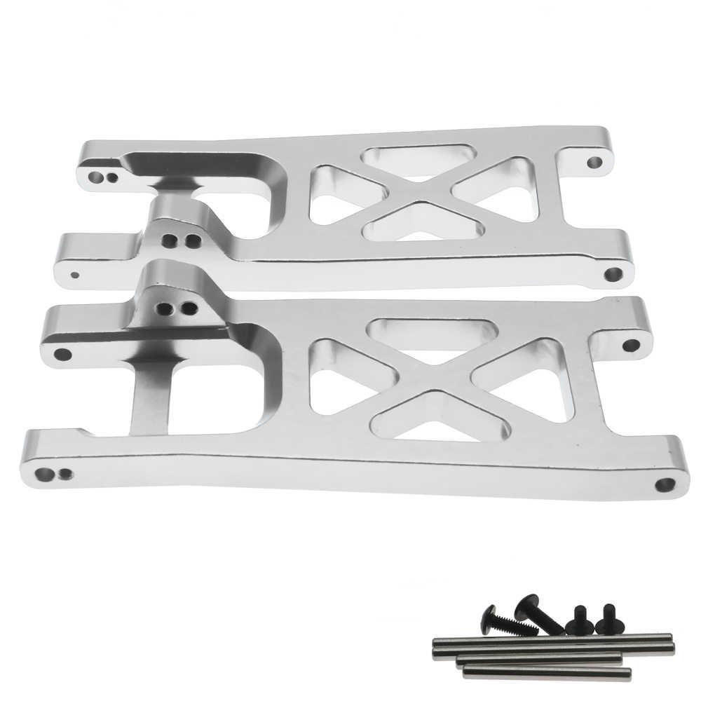 Алюминиевый сплав, 2 шт./набор, задняя, Нижняя подвеска a-arms для радиоуправляемой модели автомобиля, 1-10 ECX 2WD, модернизированные детали