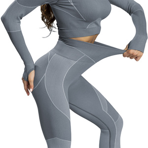 Gym Wear Women Yoga Set Seamle