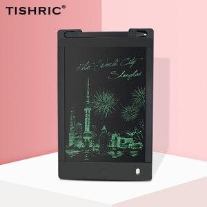 Image 1 - 8.5 אינץ לוח גרפי עסקים LCD הכתיבה גרפיקה ציור עט Tablet ילדי כתיבת לוח ציור לוח צעצוע