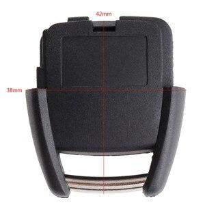 Image 1 - 2 כפתורי מפתח פגז Fob מקרה מרחוק מכונית החלפת מפתח מקרה מכסה Fit עבור ווקסהול אופל אסטרה Vectra Zafira פרונטרה אומגה