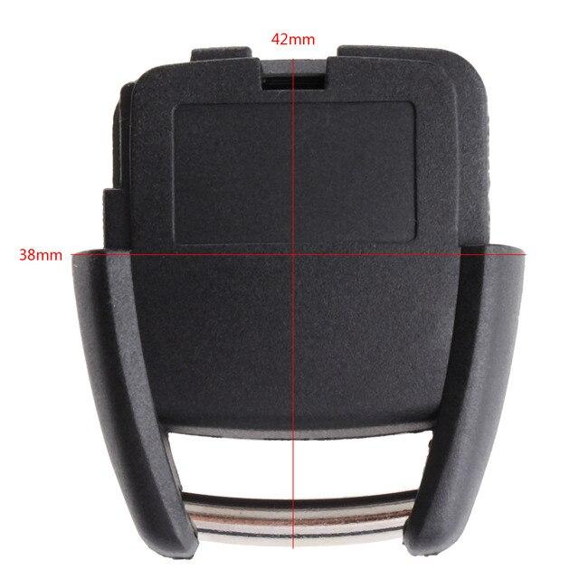 2 כפתורי מפתח פגז Fob מקרה מרחוק מכונית החלפת מפתח מקרה מכסה Fit עבור ווקסהול אופל אסטרה Vectra Zafira פרונטרה אומגה