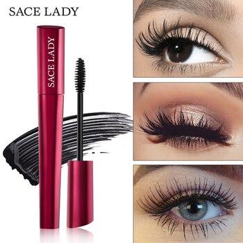 SACE LADY 4D Lash Mascara Waterproof Makeup Rimel Mascara Eyelash Extension Black Thick Lengthen Eye Lashes Cosmetics Wholesale