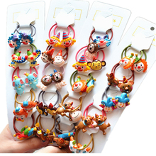 10PCS New Cartoon Cute Clown Princess Headwear Kids Elastic