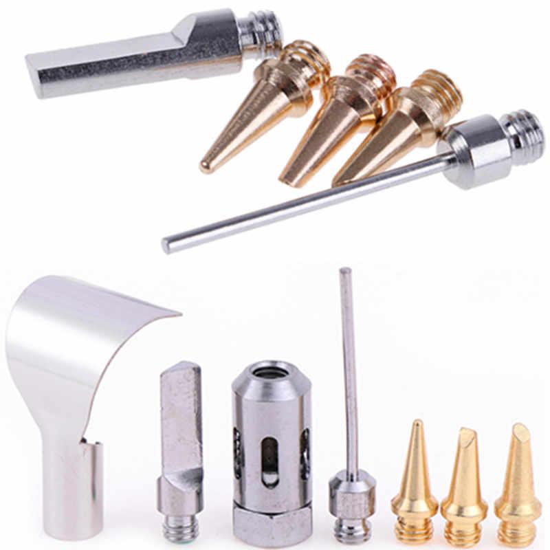 1Pc cuivre + fer gaz Kit de soudage gaz fer à souder tête/5 pièces HS-1115K Butane gaz fer à souder Kit de soudage torche stylo outil
