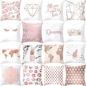 Simple Geometry Style Polyeste