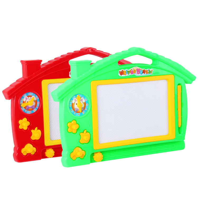 Children Drawing Board Magnetic Color Writing Board Drawing Board Small Blackboard Doodle Board Men And Women Learning Toy
