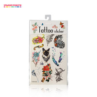 Без бренда Temporary Tattoos 3113098 Улыбка радуги ulybka radugi r ulybka smile rainbow косметика Beauty Health Tattoo Body Art