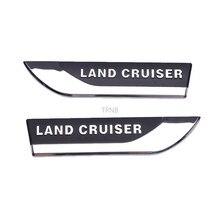 2 Pçs/set ABS Frente Fender Ambos Os Lados Carta para Toyota Land Cruiser 80 90 95 LC100 200 1997 2020 Acessórios