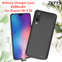 Power Case 6500mAh Battery External Pack Backup Charger For Xiaomi Mi 9 SE Bank Charging