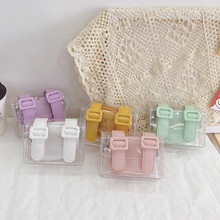 Mini Purse Clear-Bag Jelly Little-Girl Baby Pouch Small Wallet Transparent Kids Cute