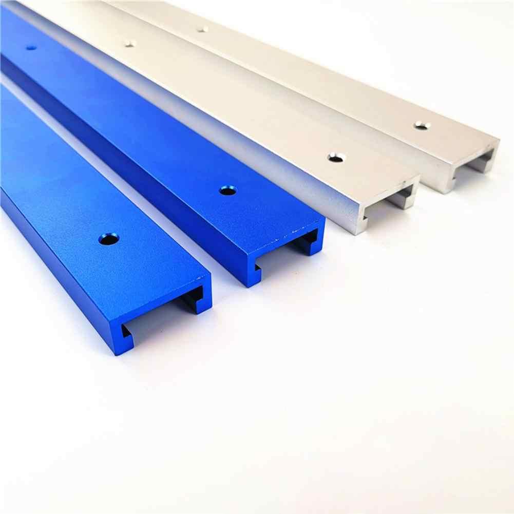 Obróbka drewna aluminium t-tracks Slot prowadnica ukośna przyrząd uchwyt do routera stół piły taśmowe wskaźnik kątowy pręt narzędzia do obróbki drewna