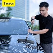 Baseus – serpillière en microfibre, brosse de lavage de voiture, mains libres, de véhicule, douce et plate, outils de nettoyage ménager