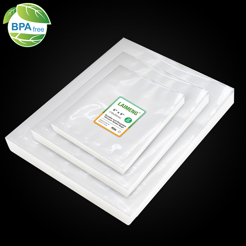 LAIMENG 150 Vacuum Sealer Storage Bags For Food Saver Vac Sealers 50 Each Size For Vacuum Packing Machine Sous Vide P262