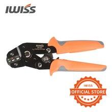 IWISS SN 02C pré isolé terminal pince à sertir U type Y terminal pince à sertir 0.25 2.5mm² pince outils