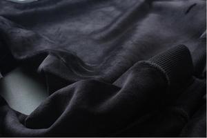 Image 3 - بلوفر رجالي بغطاء للرأس موضة ربيع وخريف 2019 جديد أكثر مبيعاً بلوفر رجالي من القطن بتصميم مرصع بالألماس