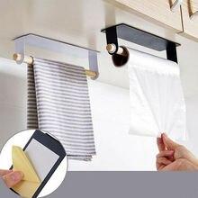 Настенный держатель для полотенец кухни и ванной комнаты металлическая